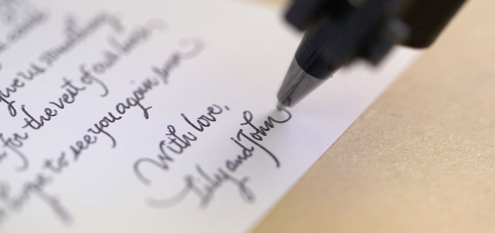 El yazınız font olsun
