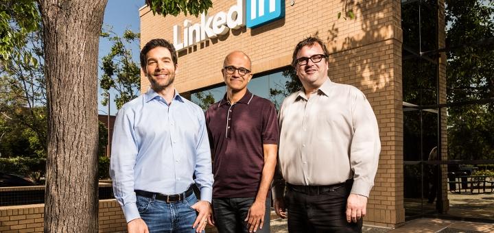 LinkedIn Microsoft'a satıldı