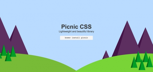 Bootstrap alternatifi: Picnic