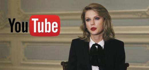 Taylor Swift YouTube aleyhine düzenlenen kampanyaya katıldı
