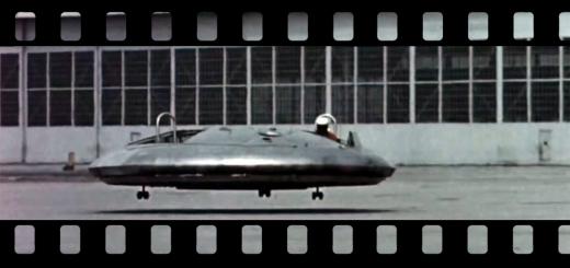 İlk uçan araba: Avrocar 1959