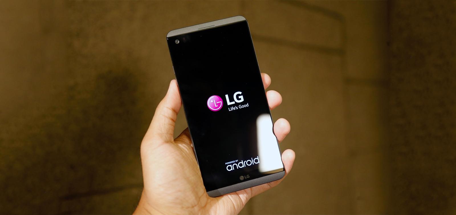 LG Android Nougat v20