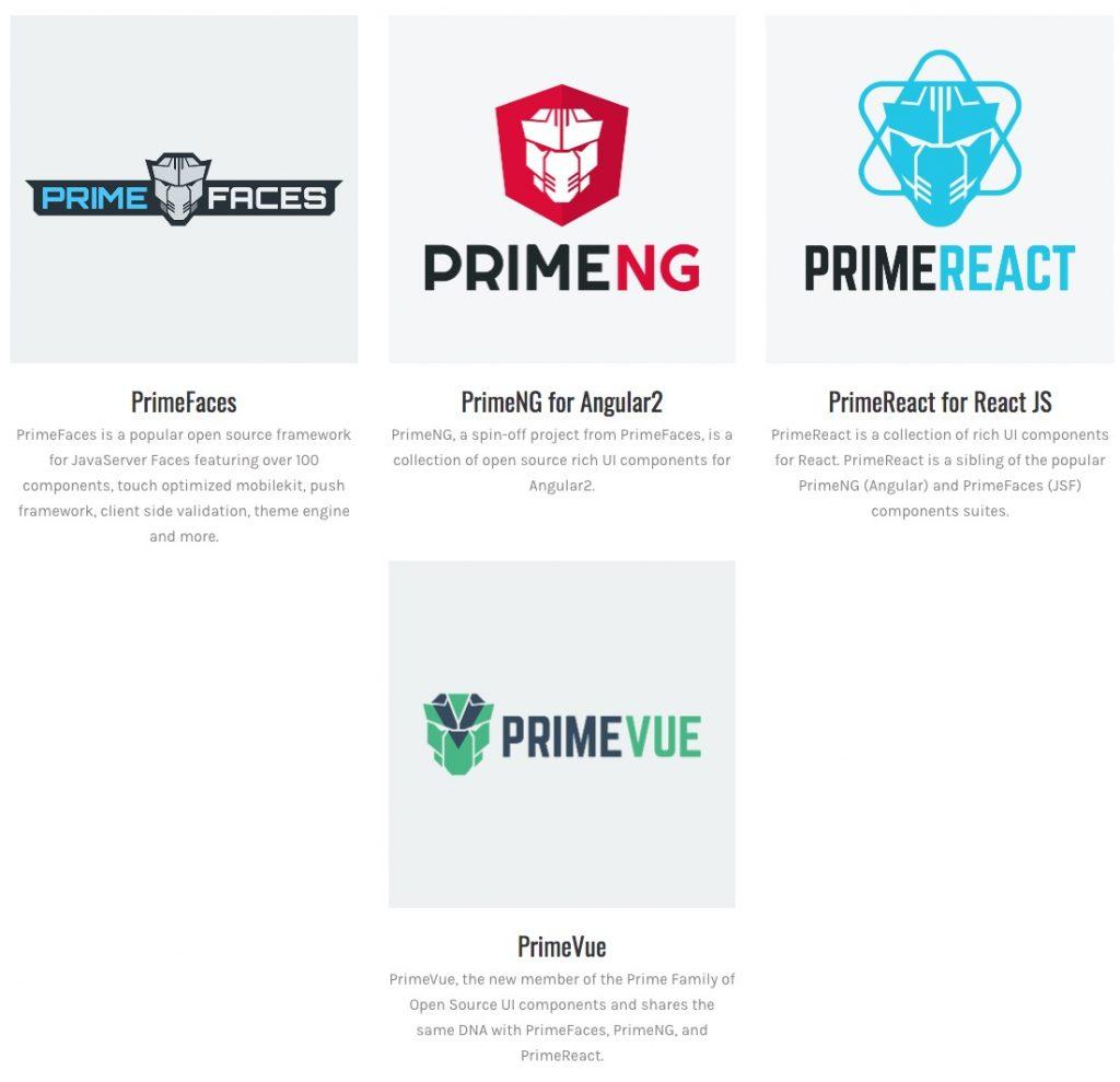 Yerli web arayüz kütüphanesi PrimeFaces