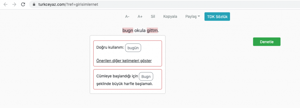 Turkceyaz.com