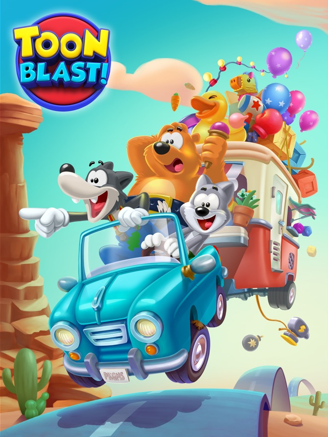 Toon Blast App Store'da